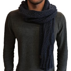 Jack & Jones August Knit Scarf Blue 12177720