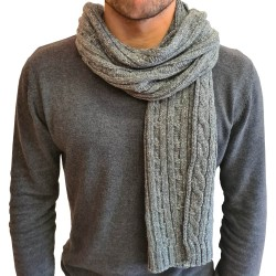 Jack & Jones August Knit Scarf Grey melange 12177720