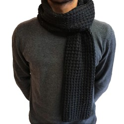 Jack & Jones August Knit Scarf Black 12177720