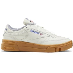 Reebok Club C Stacked Gum crema con dettagli blue FW6251