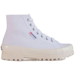 Superga 2341 alpina shiny gum white-shiny offwhite S111TCW A8I