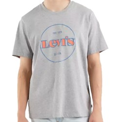 Levi's® Relaxed Fit Tee Grigia con stampa 16143-0214