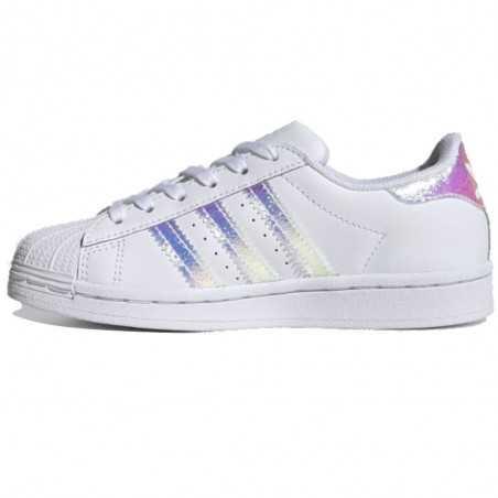 copy of Adidas Superstar bianca con dettagli iridescenti