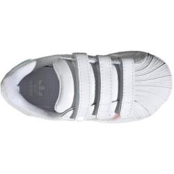 copy of Adidas Superstar C Kids bianca con dettagli iridescenti