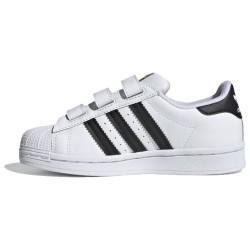 Adidas Kids Superstar CF C White and Black EF4838