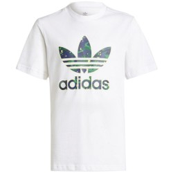 Adidas Teens T-shirt Allover Print Camo Graphic H20307