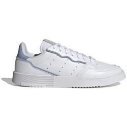 Adidas Supercourt White and Light Blue GZ8125