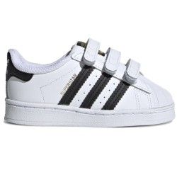 Adidas Kids Superstar CF Infant White and Black EF4842