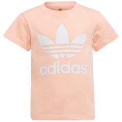 Adidas Kids T-Shirt Adicolor Trefoil Pink H25249
