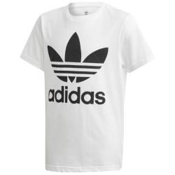 Adidas Teens T-Shirt Adicolor Trefoil White DV2904