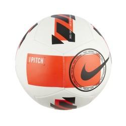 Nike Pitch Soccer Ball Bianco rosso fluò DC2380-100
