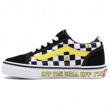 Vans x Spongebob Old Skool (4-8 anni) VN000W9T9EK1