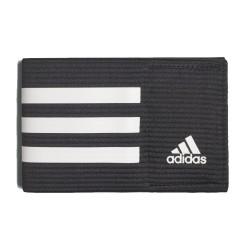 Adidas Fascia da capitano nera e bianca CF1051