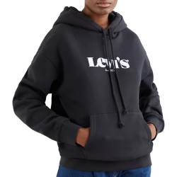 Levi's Relaxed Graphic Hoodie Black 18487-0004