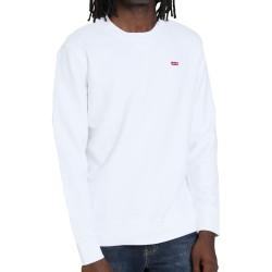 Levi's Crew Sweatshirt felpa bianca 35909-0000