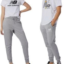 New Balance Essential Stack Logo Slim Sweatpants Grey MP11507 AG