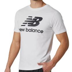 New Balance Essential Logo T-Shirt White MT01575 WT