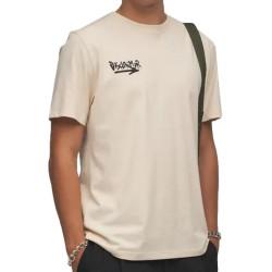 Disclaimer T-shirt Rider Beige 21IDS50782