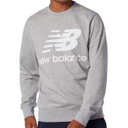 New Balance Essential Logo Crew White MT03560 AG