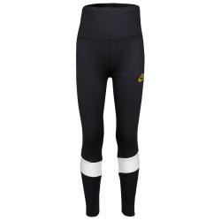 Nike Leggings Stripe White and Gold 36I112-023