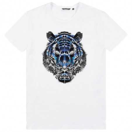 Antony Morato T-shirt Tiger White MMKS02084-FA100227-1000