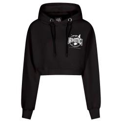 BHMG Sweatshirt Hoodie Cropped Fulmini 031318