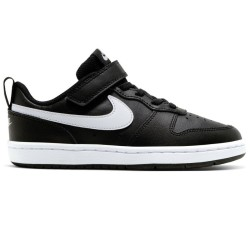 Nike Court Borough Low 2 ( Pre school ) Black and White BQ5451-002
