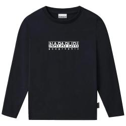 Napapijri T-Shirt Junior manica lunga blu NP0A4GEJ1761