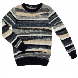 Gianni Lupo Pullover Multicolor BW845