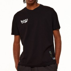 Disclaimer T-shirt Graffiti Fluo 21IDS50961