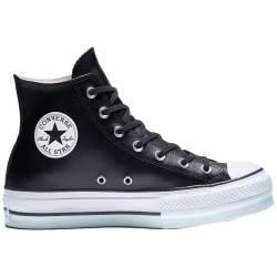 Converse Chuck Taylor Platform Leather High-Top Black 561675C