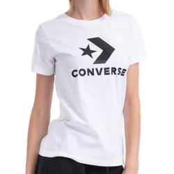 Converse T-shirt One Star White 10018569-A01