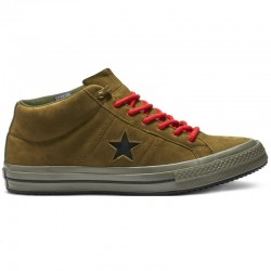 Converse One Star Counter Climate Mid verde