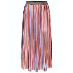 Only IRainbow Long Pleated Skirt Rosa 15138465